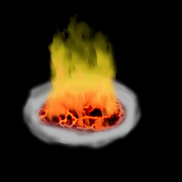 Fire Effect With The Gimp